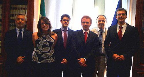 Premiazione studenti Collegio d'Europa