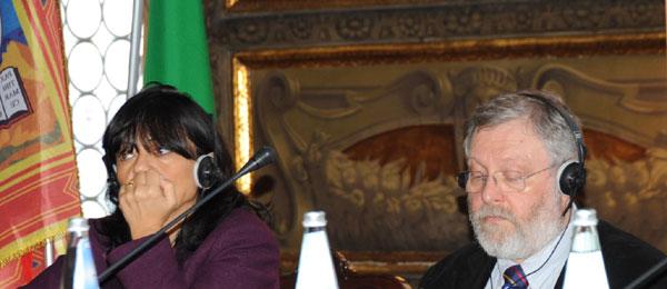 Club of Venice 2010, Anna Maria Villa e Mike Granatt