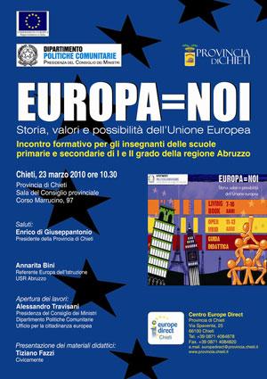 manifesto di Europa%3DNoi - Chieti