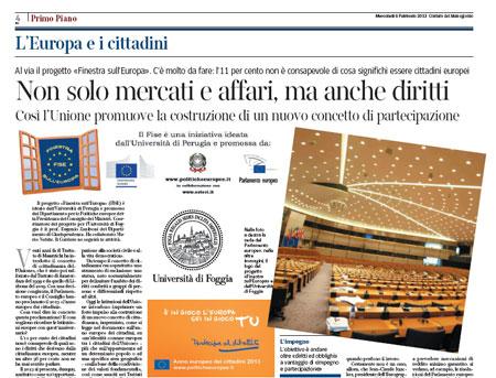 FISE 2013 - Corriere del Mezzogiorno