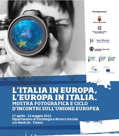 Mostra fotografica L'Italia in Europa%2C l'Europa in Italia a Trento
