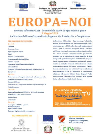Europa%3DNoi%2C Campobasso 2013
