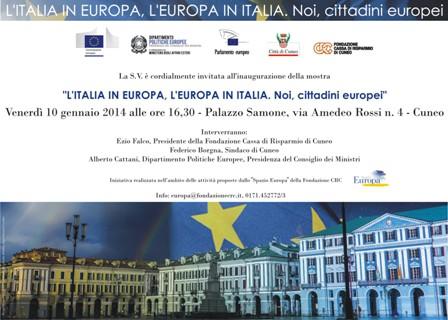 Mostra Dipartimento - Cuneo gen2014 - invito