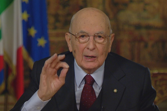 Presidente Giorgio Napolitano