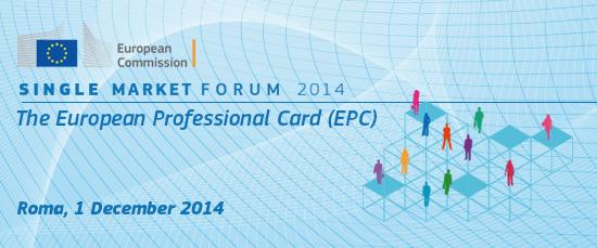 Conferenza 1 dicembre su Tessera professionale europea