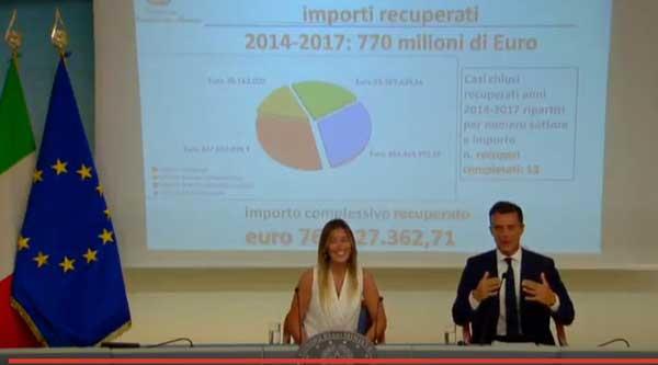 Conferenza stampa Boschi Gozi 31 luglio 2017