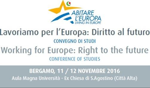 12 novembre 2016%3A Lavoriamo per l'Europa