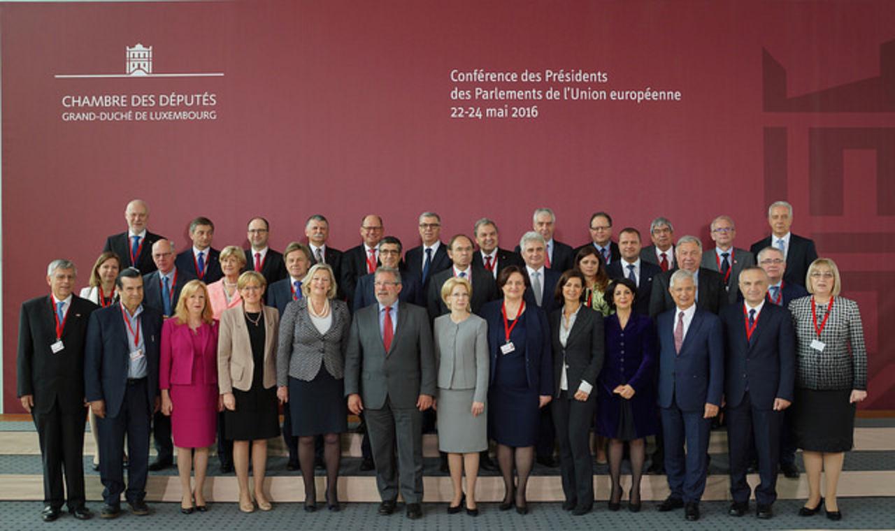 22 maggio 2016%3A Conferenza presidenti parlamenti UE