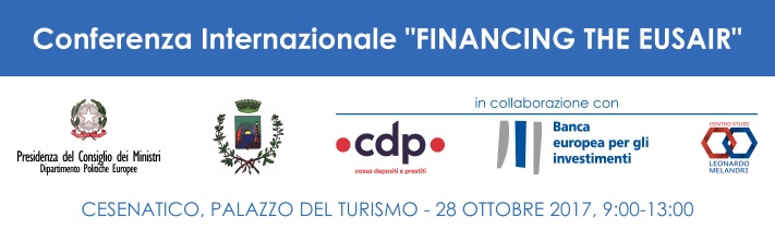 Financing the EUSAIR%2C 28 ottobre 2017