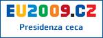 Logo della Presidenza ceca dell'Unione Europea
