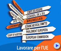 Lavorare per l'UE